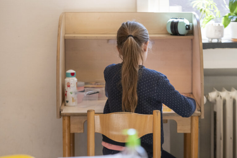 Afbeelding voor 'Lockdown Learning' Questions Conventional Children's Education