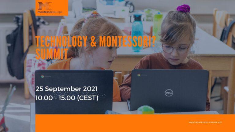 Afbeelding voor Technology and Montessori?